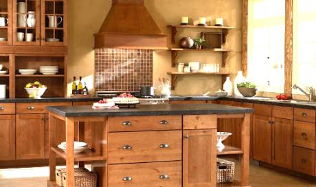 Artisan cuisiniste, rénovation d'une cuisine ancienne dans le Grésivaudan